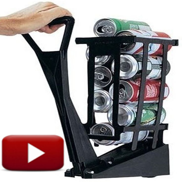 Aluminum Can Crusher Compactor Can Recycle Crush 10 Cans in 10 Seconds #CANRAM