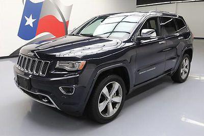 eBay: 2014 Jeep Grand Cherokee Overland Sport Utility 4-Door 2014 JEEP GRAND CHEROKEE OVERLAND 4X4 PANO ROOF NAV 44K… #jeep #jeeplife