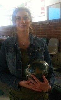 Capital High School Olympia, WA second season bowler Madi Hawkins has improved over the course of the season.