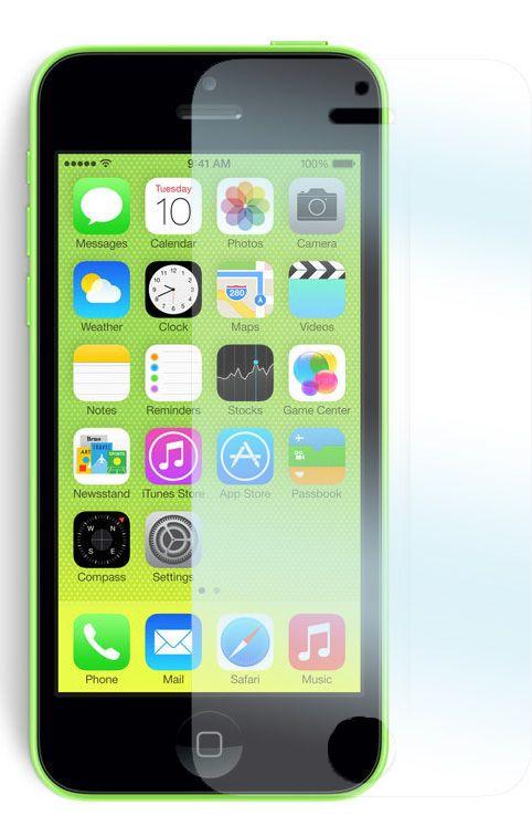 Tempered Glass skyddsfilm för Apple iPhone 5/5S/5C mobiltelefon.  http://se.innocover.com/product/490/apple-iphone-55s5c-tempered-glass-skarmskydd