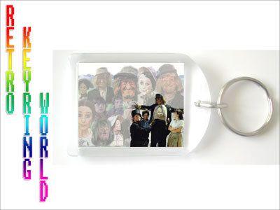Wurzle Gummage - retro UK TV Keyring free UK P - Retro TV keyring / keychain. ONLY  £1.99 Low cost Worldwide shipping
