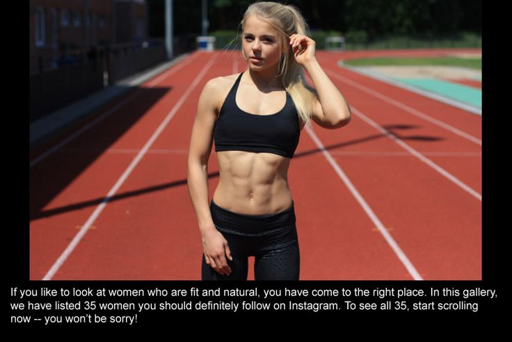 35 Hottest Fit Women On Instagram You Should Follow In 2017