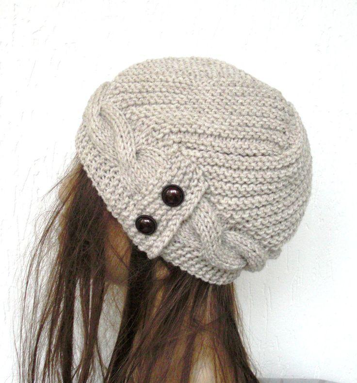 Hand Knit  Hat winter hat  Womens hat  Cloche hat  in  by Ebruk, $38.00