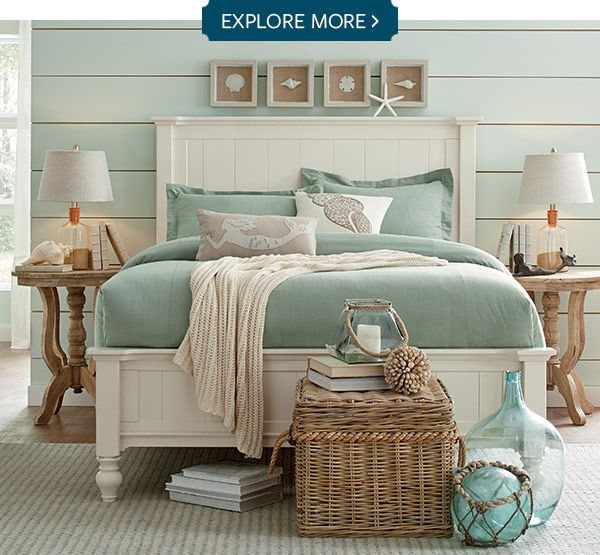 Explore more white rooms pinterest explore bedrooms for Bedroom beach theme ideas