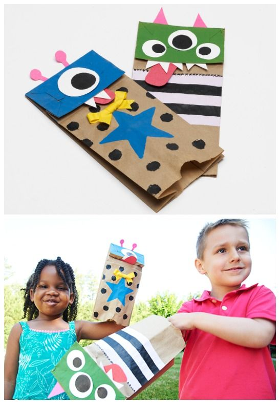 Wonderful Craft Ideas For Little Kids Part - 8: Want An Entire Summer Of Kid-friendly, Boredom-busting Craft Ideas? Read On  For 10 Weeks Of DIY Ideas To Keep Little Hands Busy And Inspire Creativity  For ...