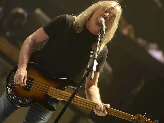 AC/DC  Cliff Williams - sexy as hell as he grew older....I think!