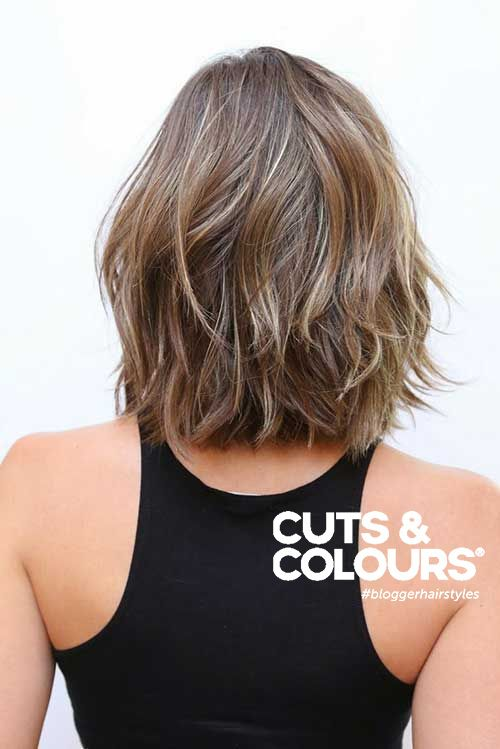 Rechte Look | halflang haar | CUTS & COLOURS