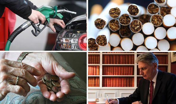 What does the Budget 2017 mean for YOU? Diesel tax stamp duty cigarettes pensions MORE