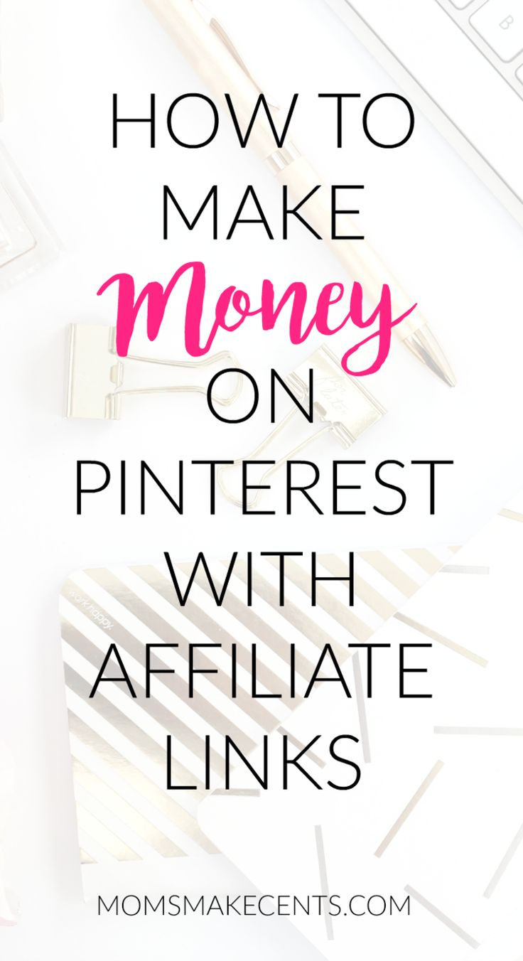 Want to know how to make money by pinning on Pinterest? Head over to the blog and check out my eight tips for using affiliate links on Pinterest + affiliate ideas based on your niche!