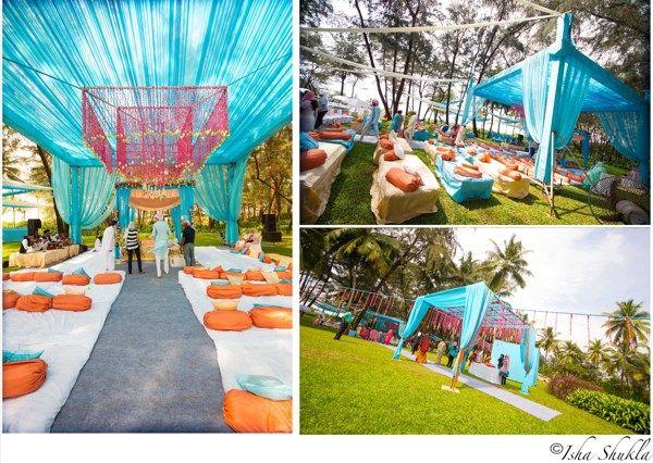Outdoor Sikh Wedding Kanika Devrath By Isha Shukla Via Behance