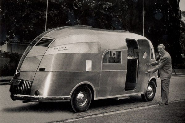 Airstream trailer throughout the years.