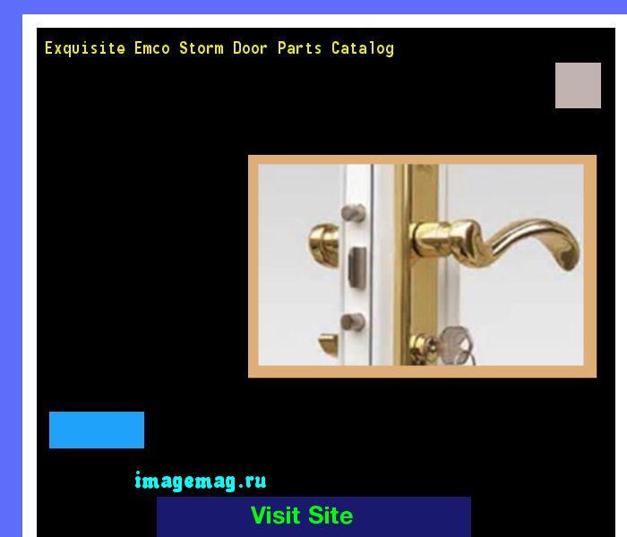 Exquisite Emco Storm Door Parts Catalog 134546 - The Best Image Search
