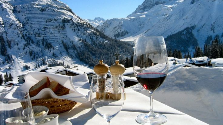 Fondue is big cheese of the Austrian alps