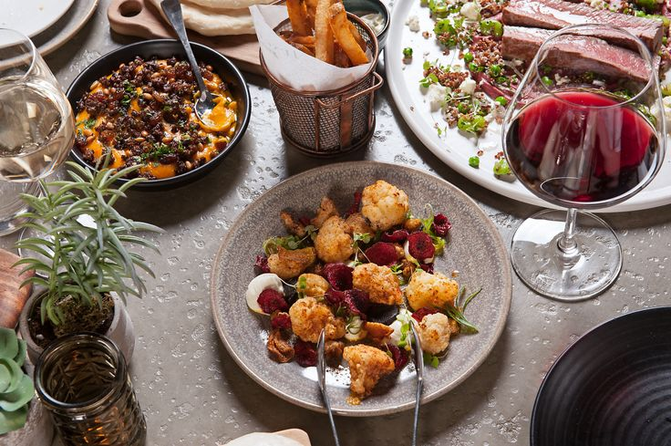Enjoy a glass of red wine with Junction's delectable array of tapas // www.junctionmoama.com.au