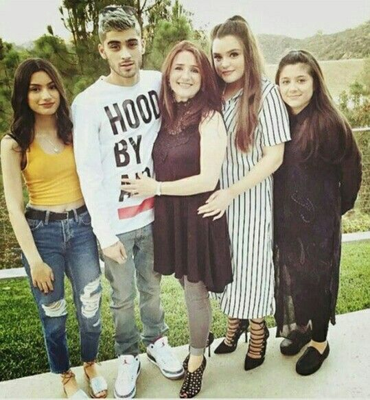 Zayn Malik and his family