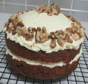 Healthy sugar free carrot cake with cream cheese icing. By The Love of Cake Blog. Learn how by visiting www.theloveofcake...