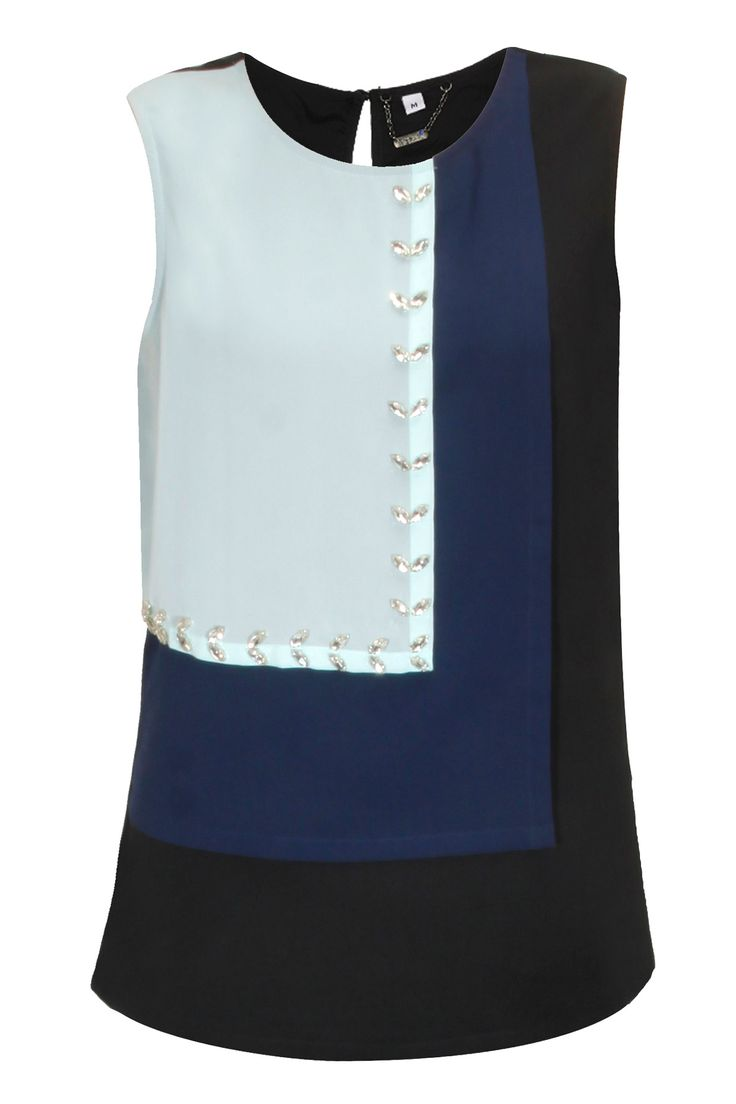 Ice blue, navy and black embellished by Meraki by Aanchal Kohli.  Shop now: http://www.perniaspopupshop.com/designers/meraki-by-aanchal-kohli  #shopnow #perniaspopupshop #meraki