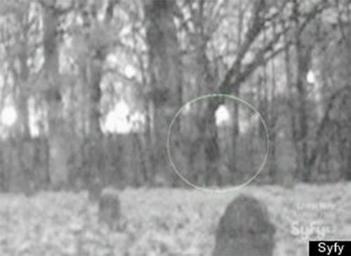 "Peoria Asylum Ghost: The TAPS Ghost Hunters captured this image while investigating the Peoria Asylum in Bartonville, Illinois. The photo is actually a still from a video. When he saw the video, the owner of the property said, ""You can see somebody walking plain as day."""