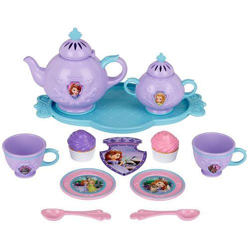 "Disney Jr. Sofia The First - Magical Tea Set - Creative Designs - Toys ""R"" Us"