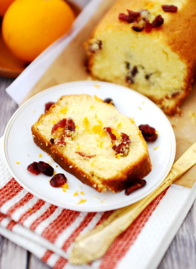 Learn How To Make Orange Cranberry Pound Cake With Step By Pictures A Perfect