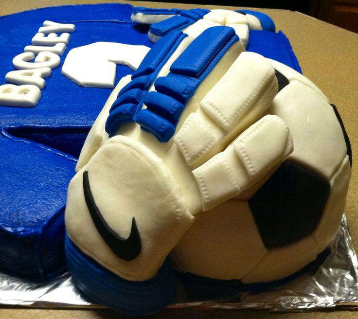 Jersey Cake With Soccer Ball