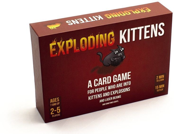 #transformer new exploding kittens original edition family friendly strategic card game gift