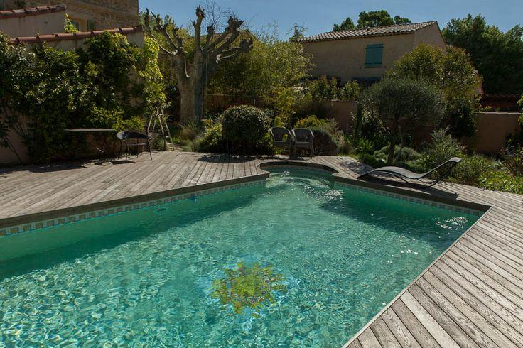 Plage de piscine-Thermofrêne grisé