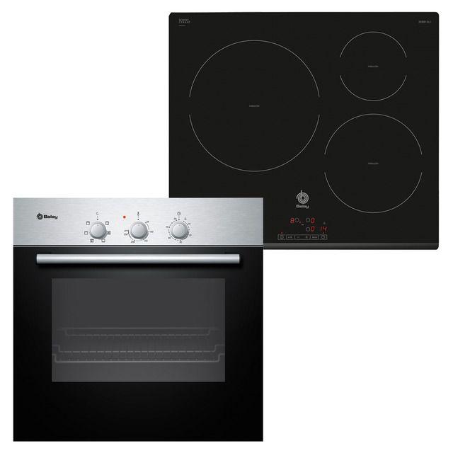 Conjunto de horno multifunci n placa de inducci n balay - Cocinas de induccion balay ...