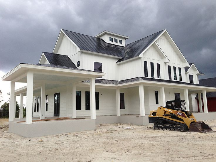 Duty exterior sw westhighland white hardie boards Modern farm homes