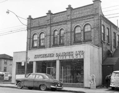 Kitchener Dairies was known for ice cream treats