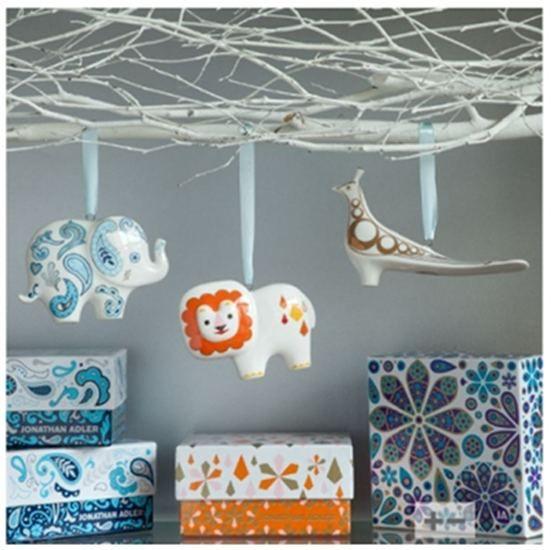 Jonathan Adler Christmas Ornaments