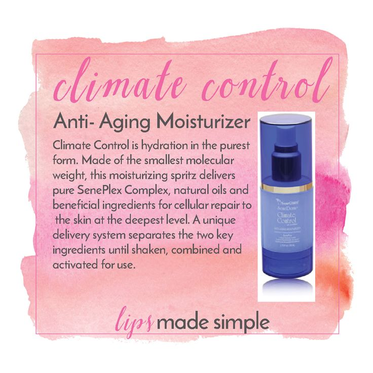 Climate Control - amazing product from SeneGence! #lipsmadesimple #lipsense https://www.facebook.com/lipsmadesimple/ Distributor ID: 228242