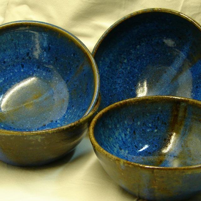 Pocillos cerámica gres