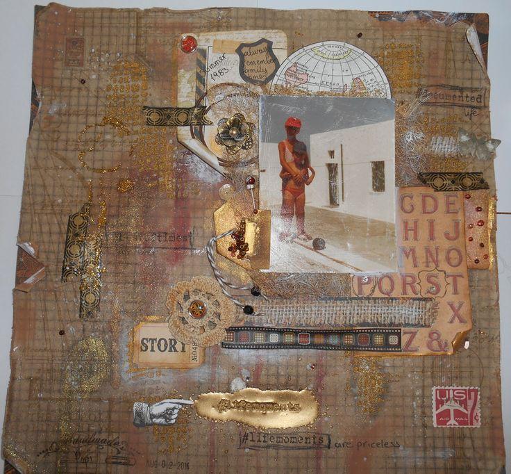 my lifemoments for the August chalenge in  scraps n pieces http://scrapsnpiecesgr.blogspot.gr/