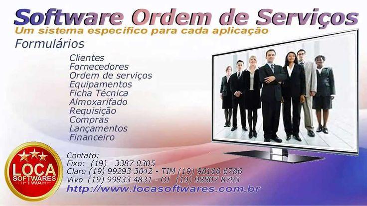 Programa ordem de serviços programa ordem de seviço