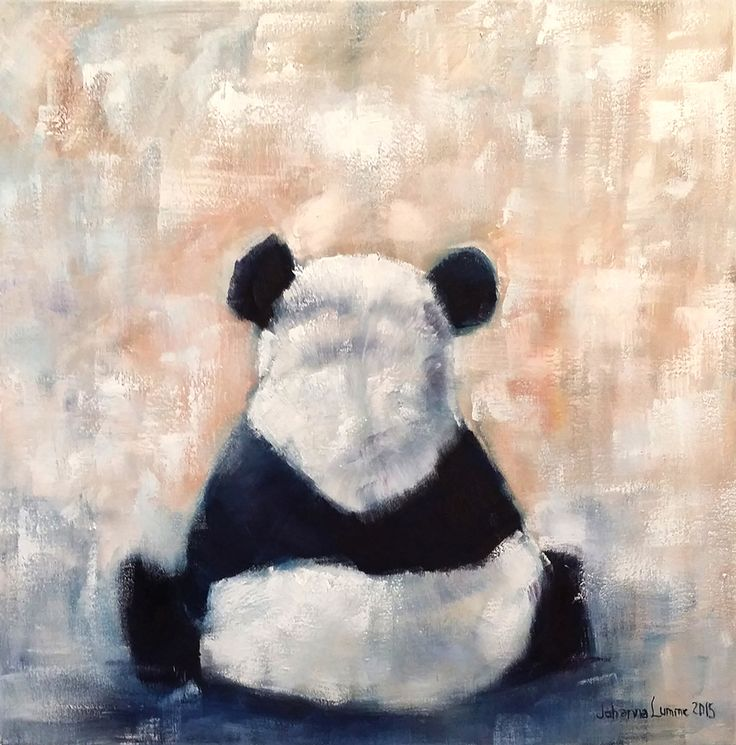 Sometimes it's better alone, 60x60cm, oil on canvas, 2015. SOLD