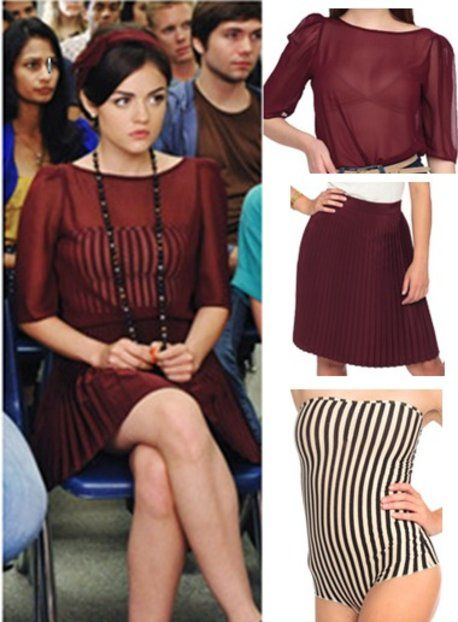how to dress like pretty little liars, Pretty Little liars fashion, aria montgomery style