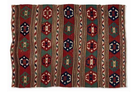 Shirvan, Woven Carpet, Eastern Caucasus, 19th Century Sheep's woolShirvan, Eastern Caucasus, seco