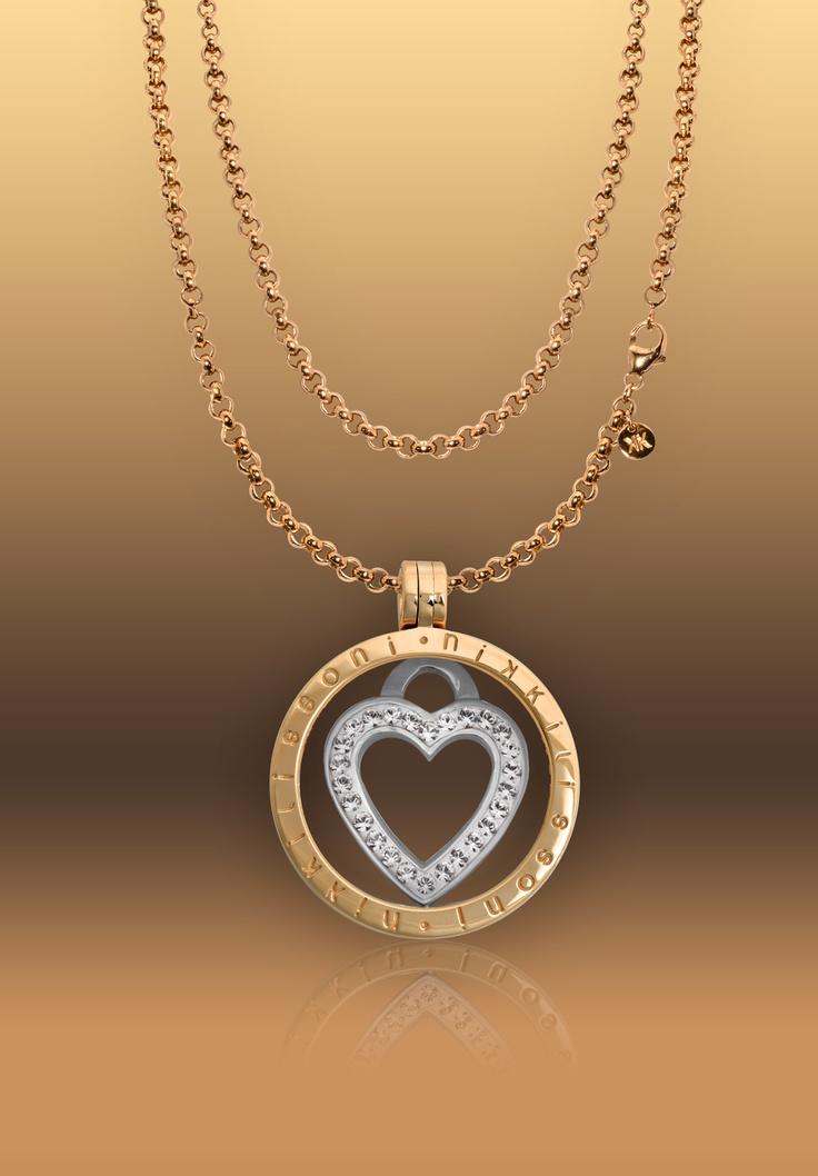 Nikki Lissoni necklace Love Keeper (C1039SS03) #nikkimagazine201302