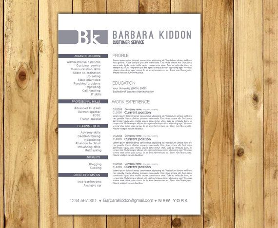 16 best resume images on Pinterest Resume, English language and - resume format in pdf file
