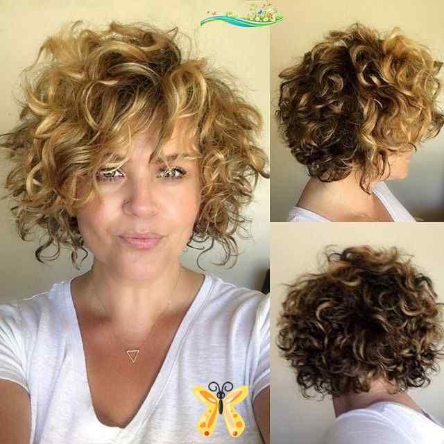 Welcome To Blog Curly Hair Hairstyles Youtube Curly Hairstyles Chin Length Jerry Curl Hairstyle In 2020 Lockige Frisuren Naturlocken Frisuren Kurze Lockige Frisuren