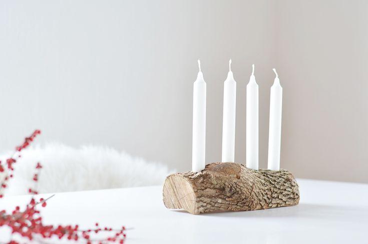 best 25 adventskranz aus holz ideas on pinterest. Black Bedroom Furniture Sets. Home Design Ideas