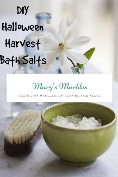 #DIY Halloween Harvest Bath Salts Recipe