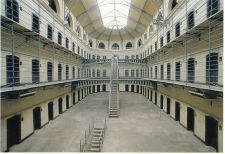 East Wing of Kilmainham Gaol, where the leaders of the 1916 Rising were shot