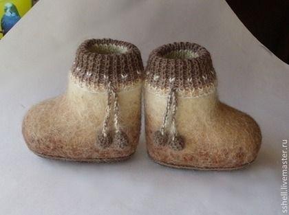 Детская обувь ручной работы. Заказать Валенки детские. Марина-Алтай. Ярмарка Мастеров. Валенки для улицы