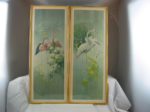 Vernon Ward Prints for Sale | VERNON WARD Print, Vintage Ward, Ward Flamingos Print, Art Deco Print ...