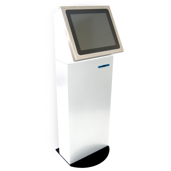 Ticketing Kiosk GP2 - Smart, toughened kiosk for most uses that can be adapted to your requirements. The GP2 has been in our range from day one and has never let us down so choose this if you are wanting long lasting value.
