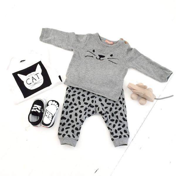 &SUUS | Kids Closet | Boys & Cats | ensuus.blogspot.nl | Baby outfit | #HEMA