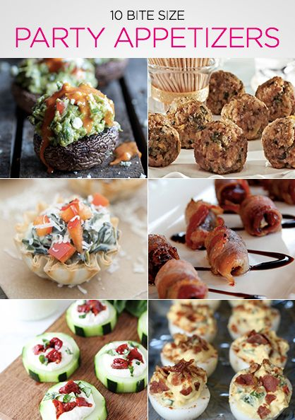 Bite-Size Party Appetizers