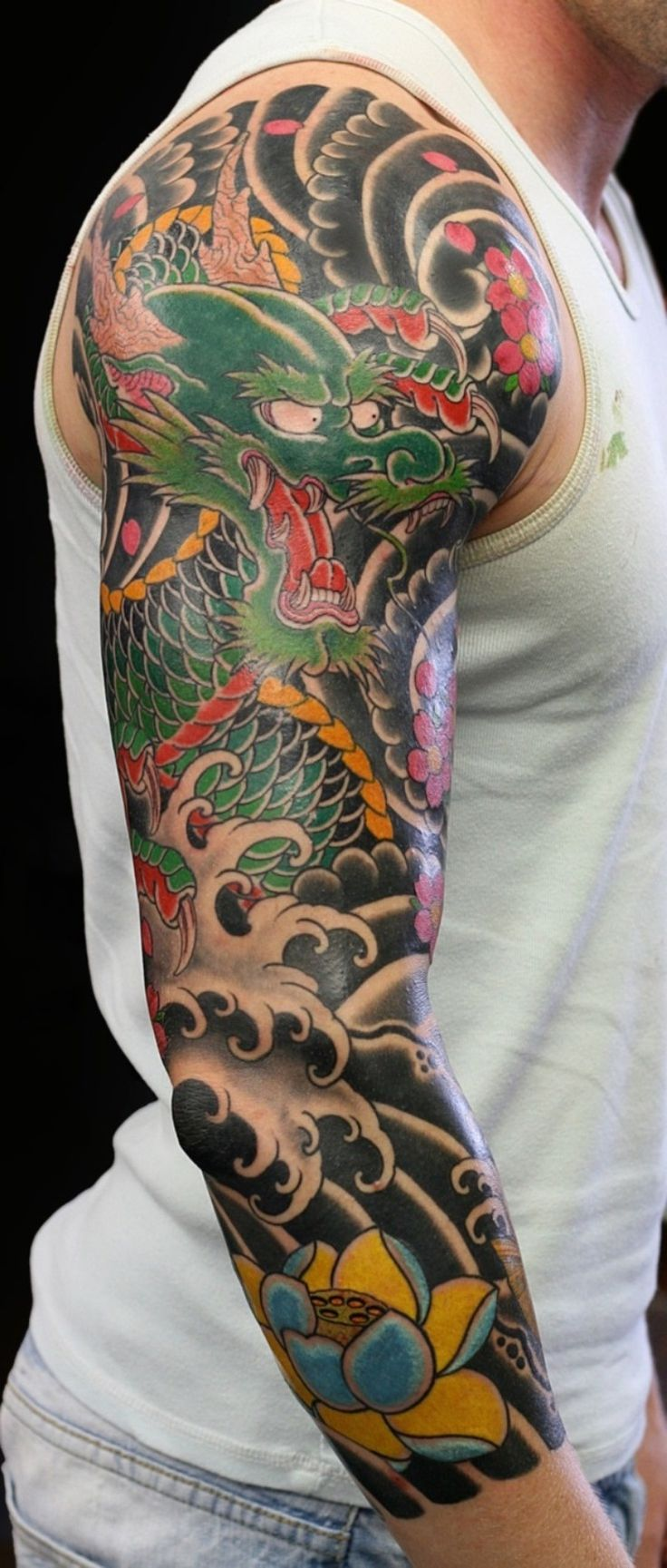 Japanese sleeve tattoos designs and ideas - Japanese Sleeve Tattoo Pictures